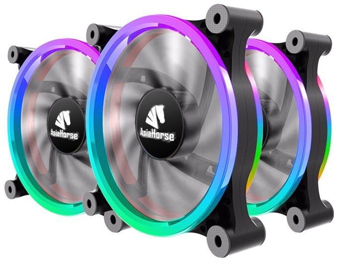 Asiahorse-Wireless-RGB-LED-120mm-Case-Fan