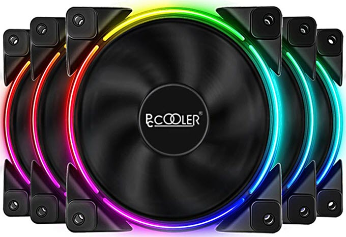Pccooler-120mm-RGB-Fan-Moonlight-Series