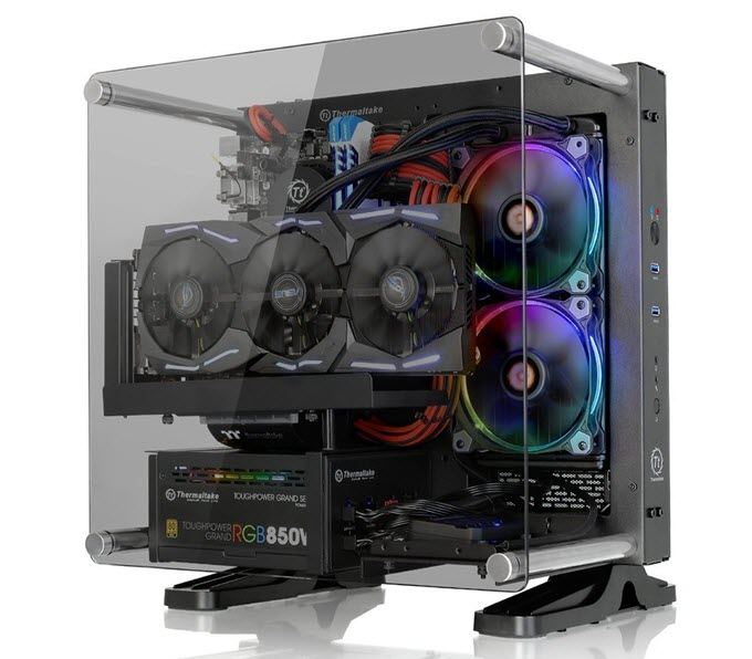 Thermaltake-Core-P1-TG-Mini-ITX-Open-Frame-Chassis