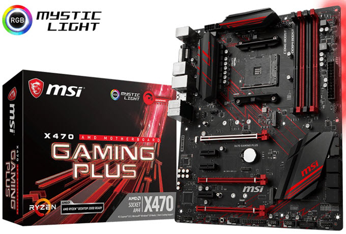 MSI-X470-Gaming-Plus-Motherboard