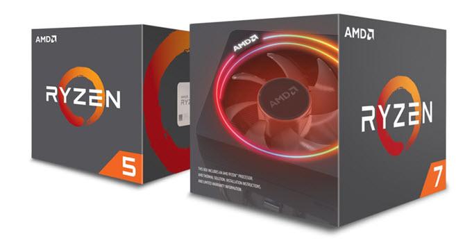 AMD 2nd Gen Ryzen Processors for Gaming [Ryzen 5 & 7 2000 Series]
