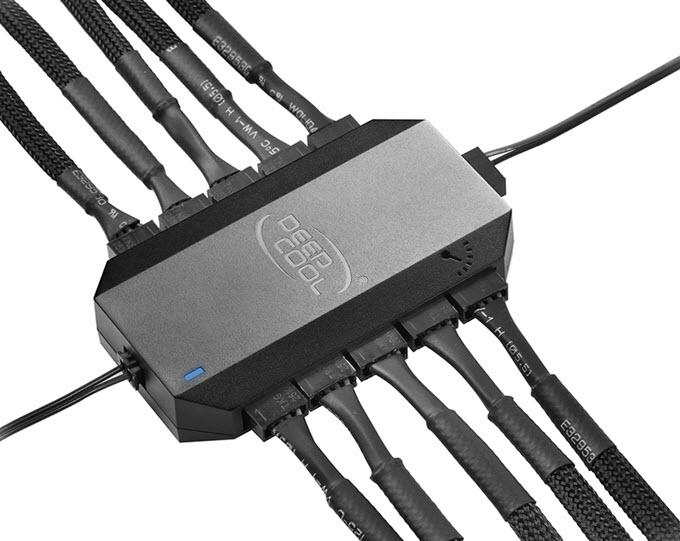 Deepcool-FH-10-10-Port-Fan-Hub
