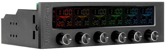 Thermaltake-Commander-F6-RGB-LCD-Multi-Fan-Controller