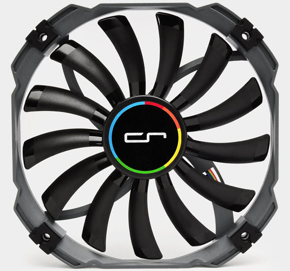 Cryorig-XT140-PWM-Slim-140mm-Fan