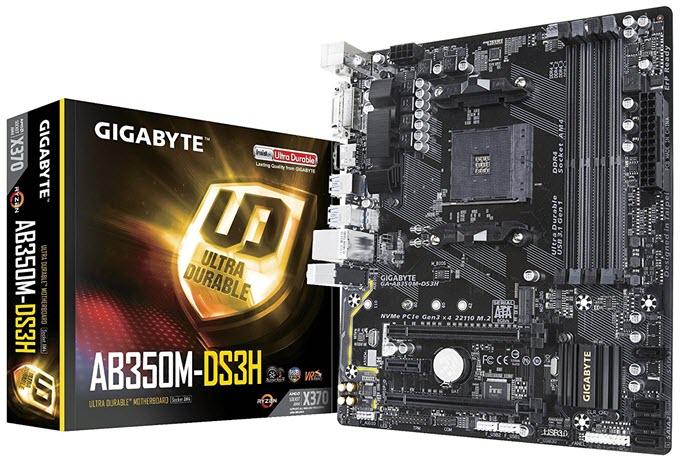 Gigabyte-GA-AB350M-DS3H-Motherboard