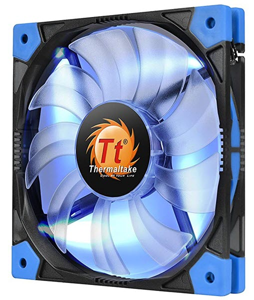 Thermaltake-Luna-12-Slim-LED-Blue