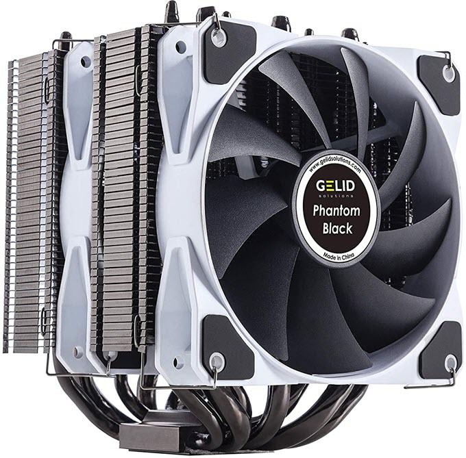 Gelid-Solutions-Phantom-Black-CPU-Cooler