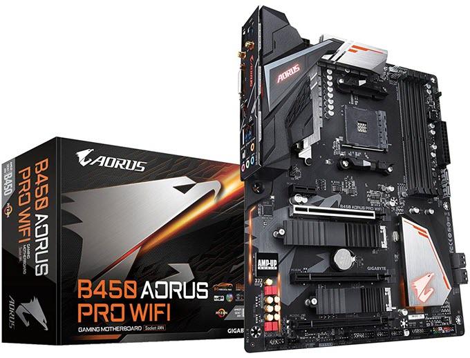 Gigabyte-B450-AORUS-PRO-WIFI-Motherboard