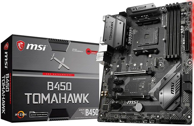 MSI-B450-TOMAHAWK-Arsenal-Gaming-Motherboard
