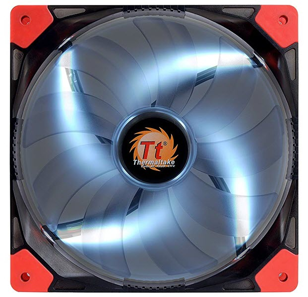 Thermaltake-Luna-14-LED-White-LED-Fan