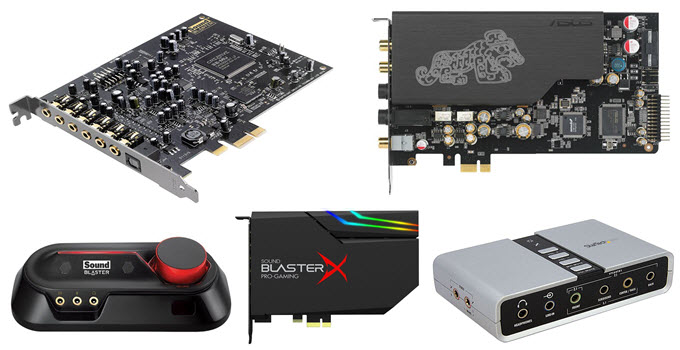 Best Sound Card for PC, Laptop, Gaming & Audiophiles in 2019