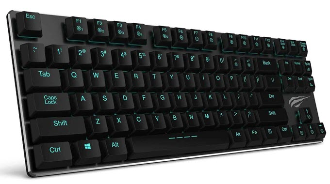 HAVIT-HV-KB390L-Low-Profile-Mechanical-Keyboard