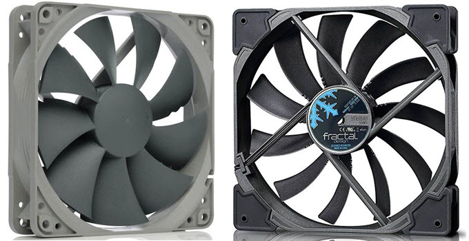 Outstanding Best High Airflow Fan For Pc Case High Cfm Fan 120Mm 140Mm Beutiful Home Inspiration Aditmahrainfo