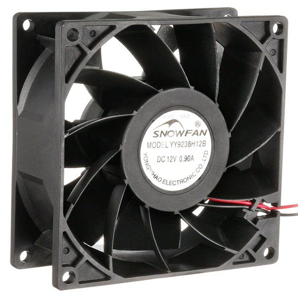uxcell-92mm-x-38mm-12V-DC-Industrial-Cooling-Fan