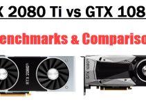 RTX 2080 Ti vs GTX 1080 Ti Comparison & Benchmarks