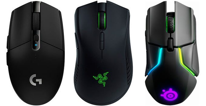 Best Wireless Gaming Mouse in 2021 [Budget & Top-end]