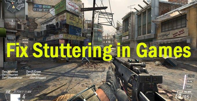 fix-game-stuttering