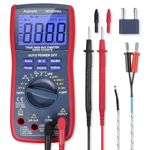 AstroAI-Digital-Multimeter-TRMS-6000-Counts-Multimeter