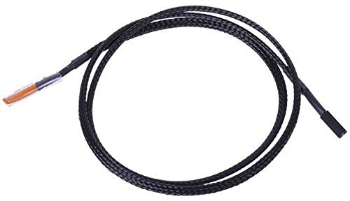 Phobya-10K-Temperature-Sensor-80cm-Sleeved-cable-2-pin