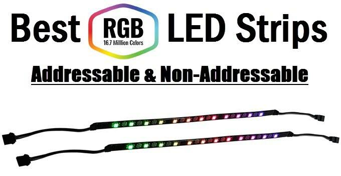 Best RGB LED Strip for PC Case Lighting [RGB & ARGB Strips] 1