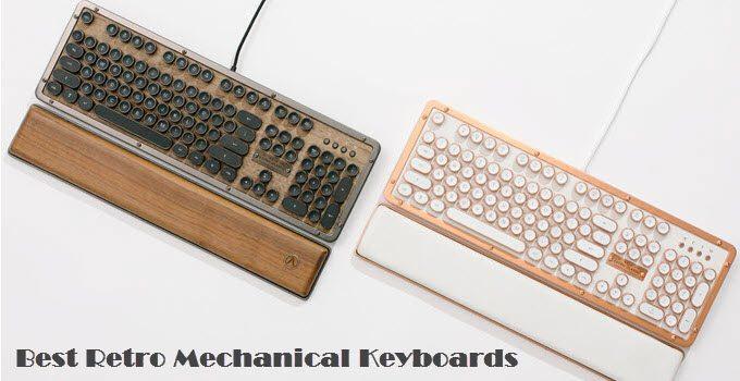 Best Retro Mechanical Keyboard in 2021 [Vintage Typewriter Style]