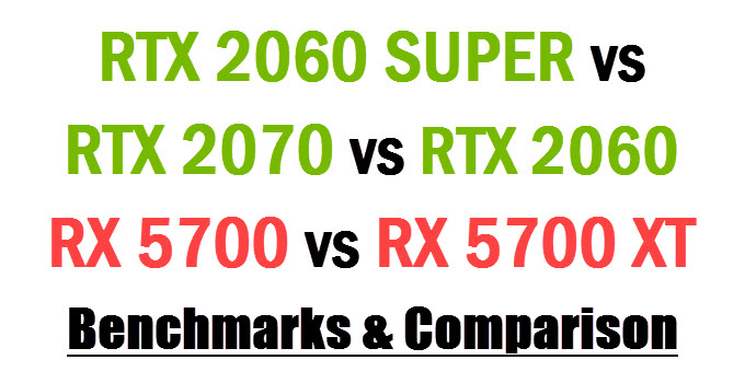amd radeon 5700 xt vs rtx 2070 super