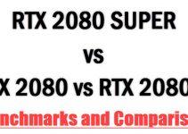 RTX 2080 SUPER vs RTX 2080 vs RTX 2080 Ti Comparison