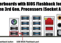 Top BIOS Flashback Motherboards for Ryzen 3rd Gen Processors [AM4 Socket]
