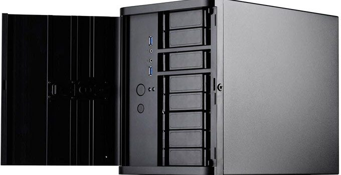 Top PC Case with Lots of Hard Drive Bays for NAS & Server in 2021