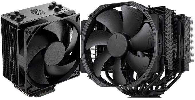 Best Black CPU Air Coolers for Intel & AMD Processors in 2021