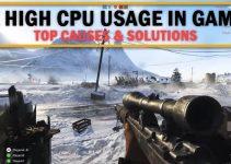 Fix High CPU Usage in Games [95% to 100% CPU Usage]