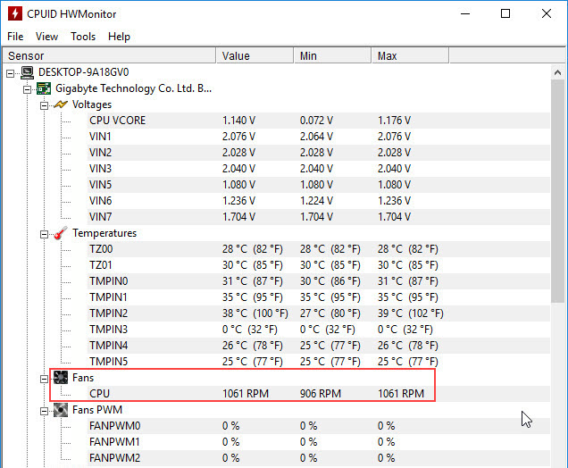 HWMonitor-CPU-Fan-Speed