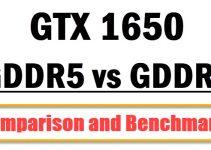 GeForce GTX 1650 GDDR6 vs GDDR5 Comparison & Benchmarks