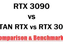 RTX 3090 vs TITAN RTX vs RTX 3080 Comparison & Benchmarks