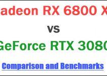 RX 6800 XT vs RTX 3080 Comparison and Benchmarks