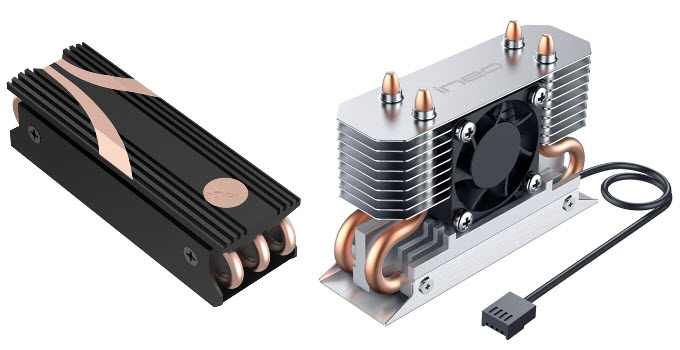 Best M.2 Heatsinks for NVMe SSD [Passive & Active M.2 Coolers]