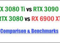 RTX 3080 Ti vs RTX 3090 vs RTX 3080 vs RX 6900 XT Comparison & Benchmarks